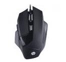 MOUSE GAMER HP - G200 BLACK - SENSOR AVAGO A3050 - 1000 - 4000 DPI