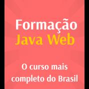 Formação Java WEB